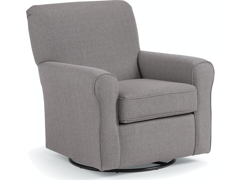 Excellent Best Home Furnishings Living Room Swivel Glider 4177 Carol Onthecornerstone Fun Painted Chair Ideas Images Onthecornerstoneorg