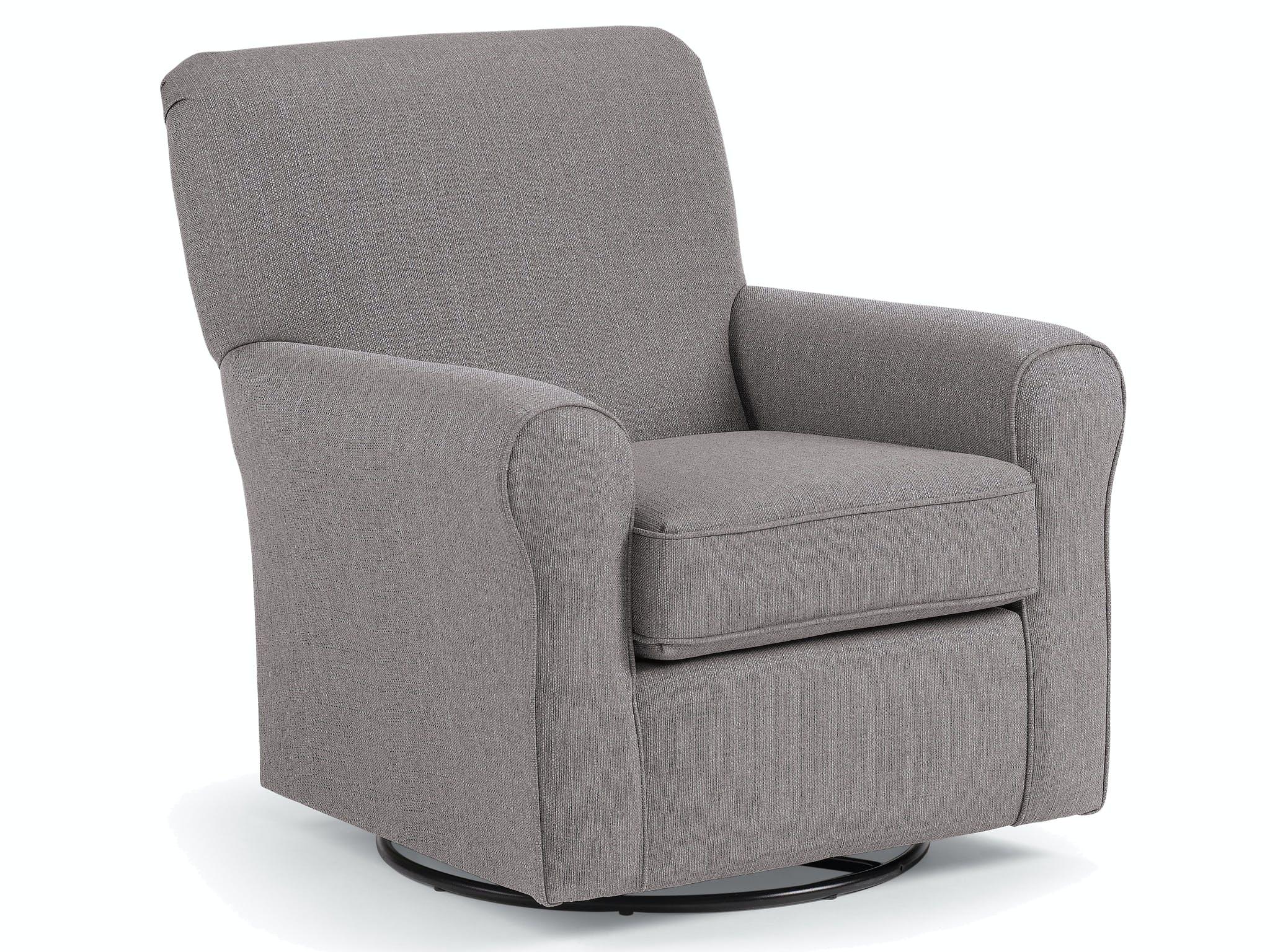 Best Home Furnishings Living Room Swivel Glider 4177 Carol