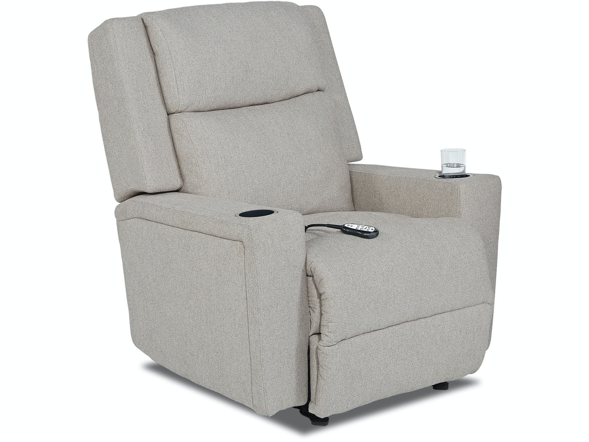 Best Home Furnishings Power Reclining Chair With Cup Holders 738475 Custom
