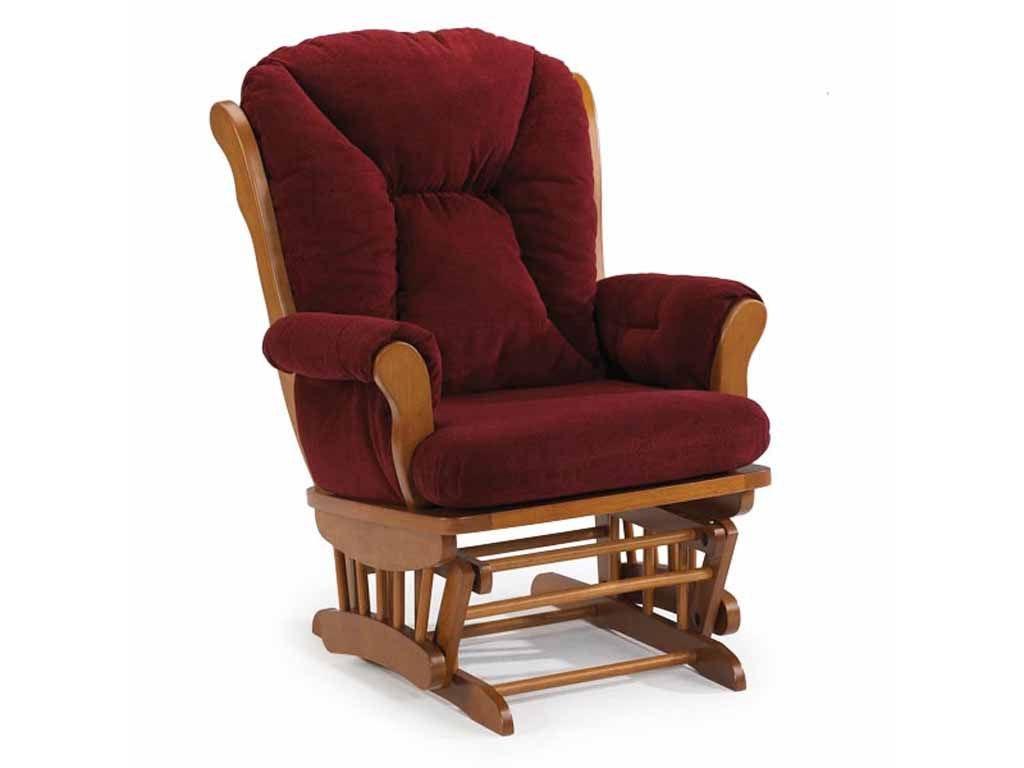 Best Home Furnishings Living Room Glide Rocker C4057 Smith Village Home Furniture Jacobus