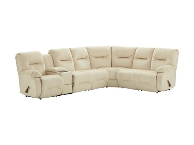 Best Home Furnishings Motion Sectional M700-Sect