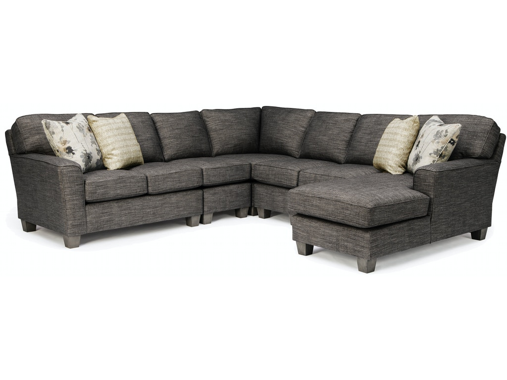 Best Home Furnishings Living Room Annabel Sectional M81