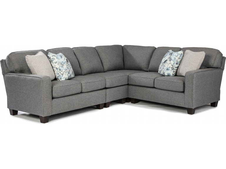 Best Home Furnishings Living Room Annabel Sectional M82