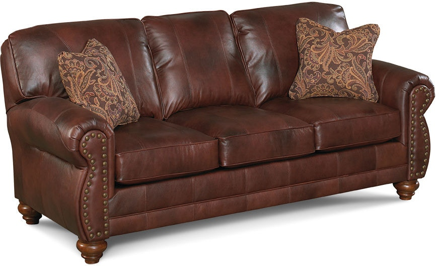 Best Home Furnishings Living Room Sofa Leather Vynl Noble 952922
