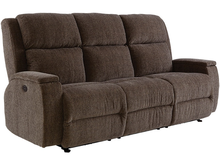 Best Home Furnishings Living Room Sofa Reclining Power Colton ...