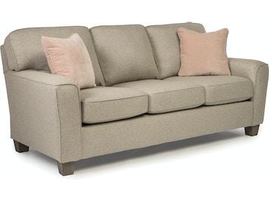 Best home furnishings living room stationary sofa s81e for Furniture yuba city