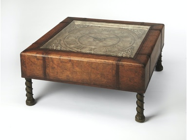 Butler Specialty Company Clock Coffee Table 0286070
