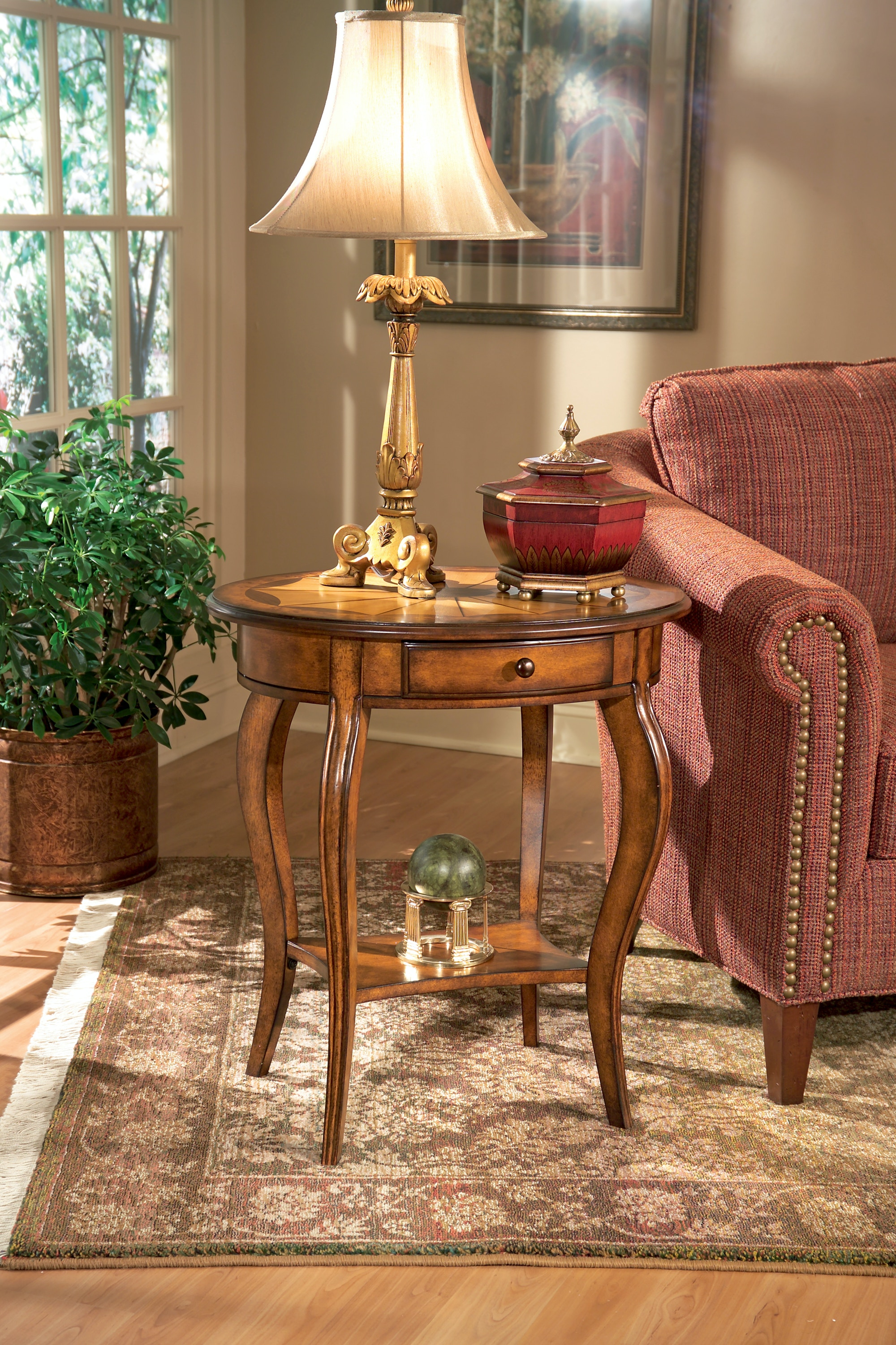 oval accent table nesting butler specialty company oval accent table 0532101 living room