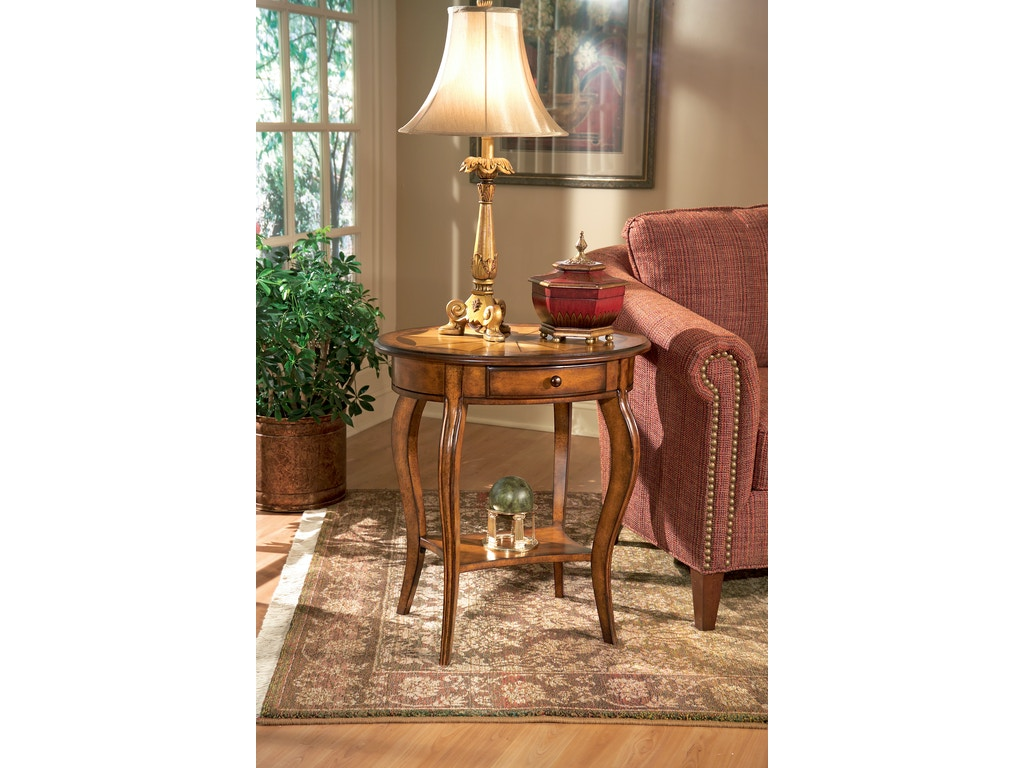 Butler Specialty Company Living Room Oval Accent Table