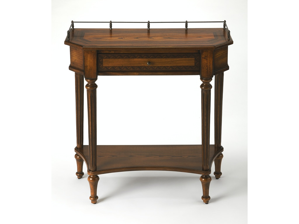Butler Specialty Company Living Room Console Table 0883040 Shumake Furniture Decatur And
