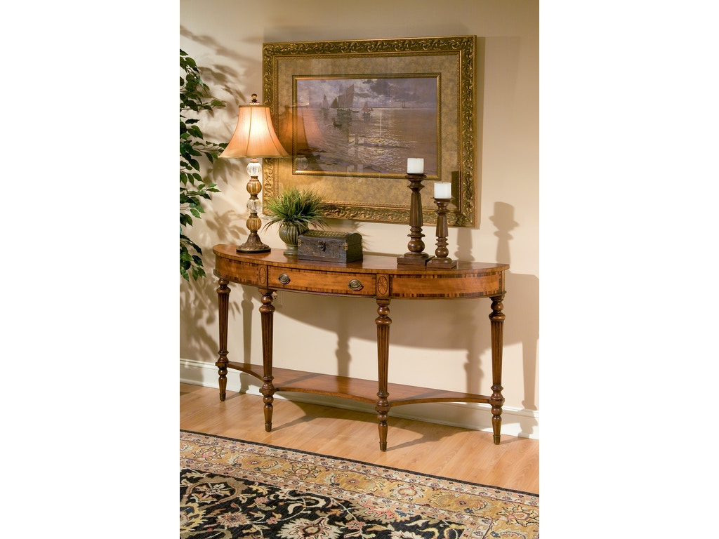 butler specialty company living room console table 1510090 homestead house conroe tx. Black Bedroom Furniture Sets. Home Design Ideas