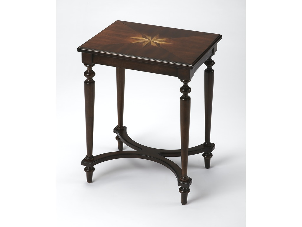Butler specialty company living room accent table 2116024 for Occasional tables for living room