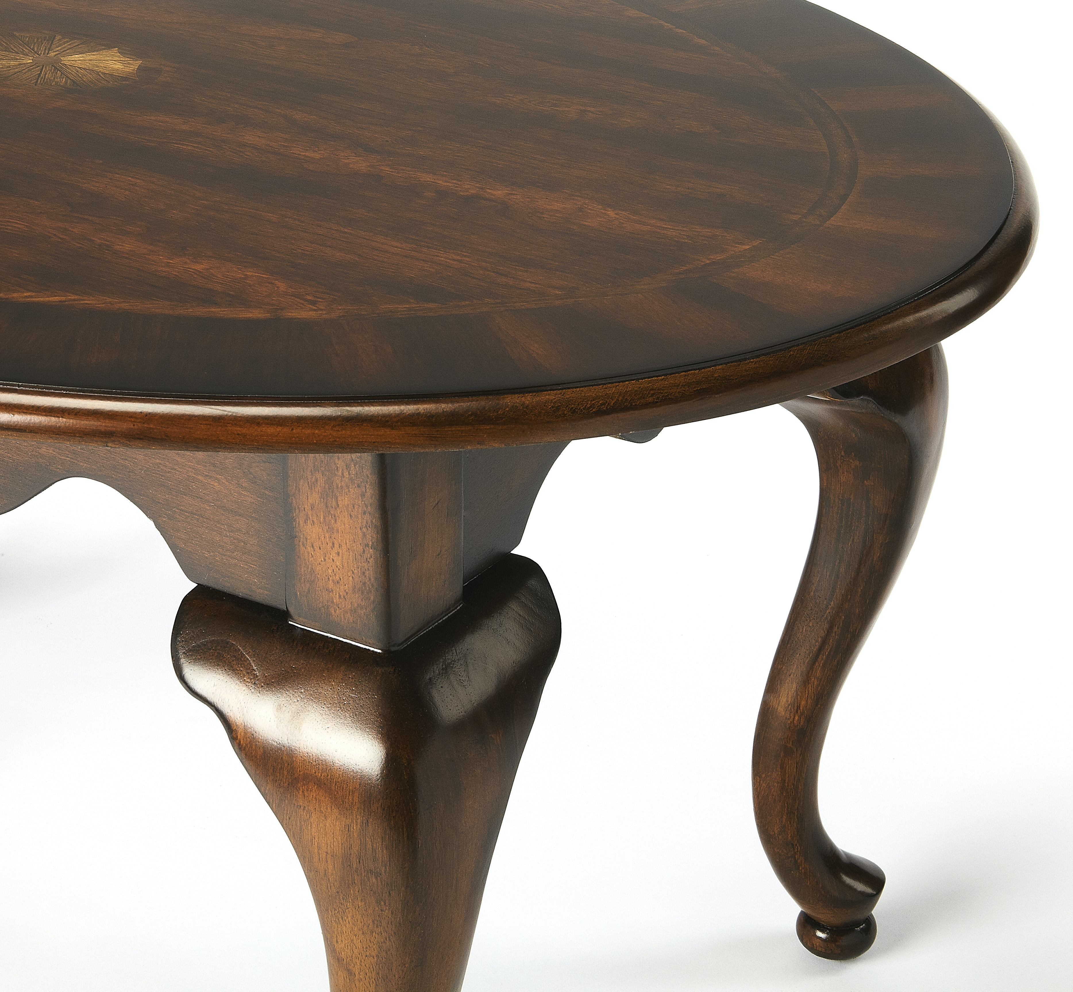 Butler Specialty Company Oval Coffee Table 3012024