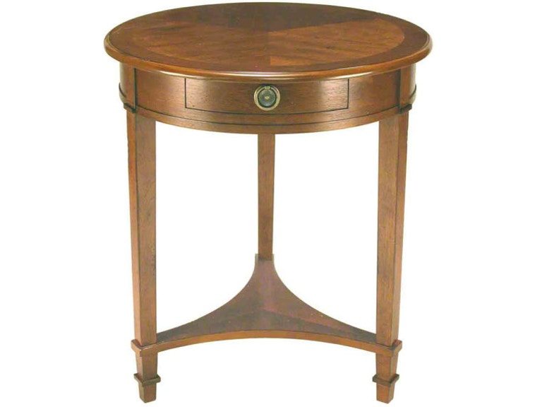 Accents Beyond Living Room Round 3 Leg Table 1048 At Lenoir Empire Furniture
