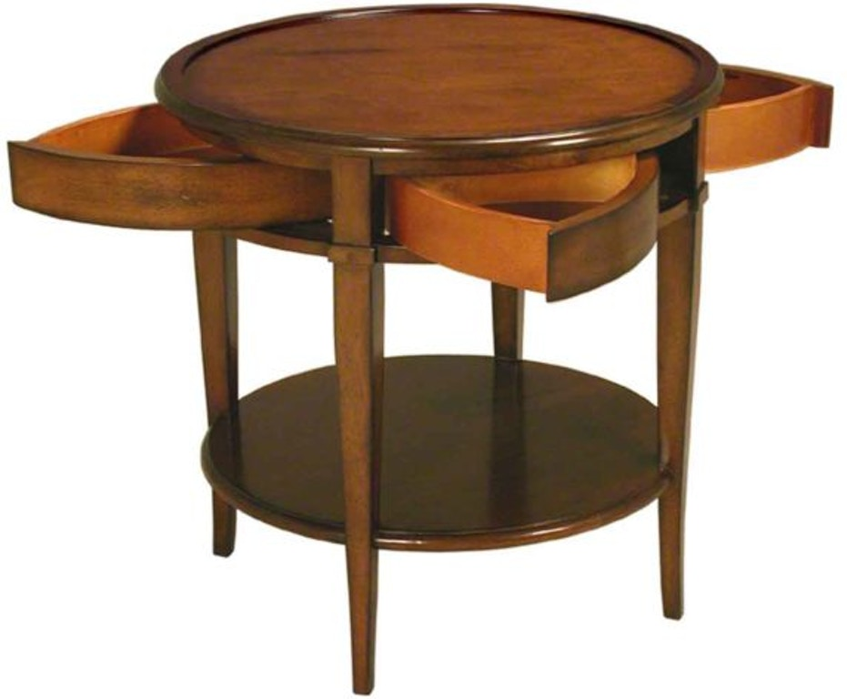Accents Beyond Living Room Round Table 1090 C La Waters