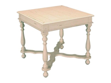 Accents Beyond Living Room Square End Table