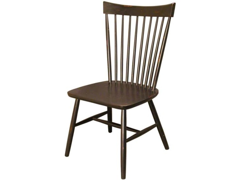 Tremendous Accents Beyond Dining Room Spindle Back Side Chair 1529 B Machost Co Dining Chair Design Ideas Machostcouk