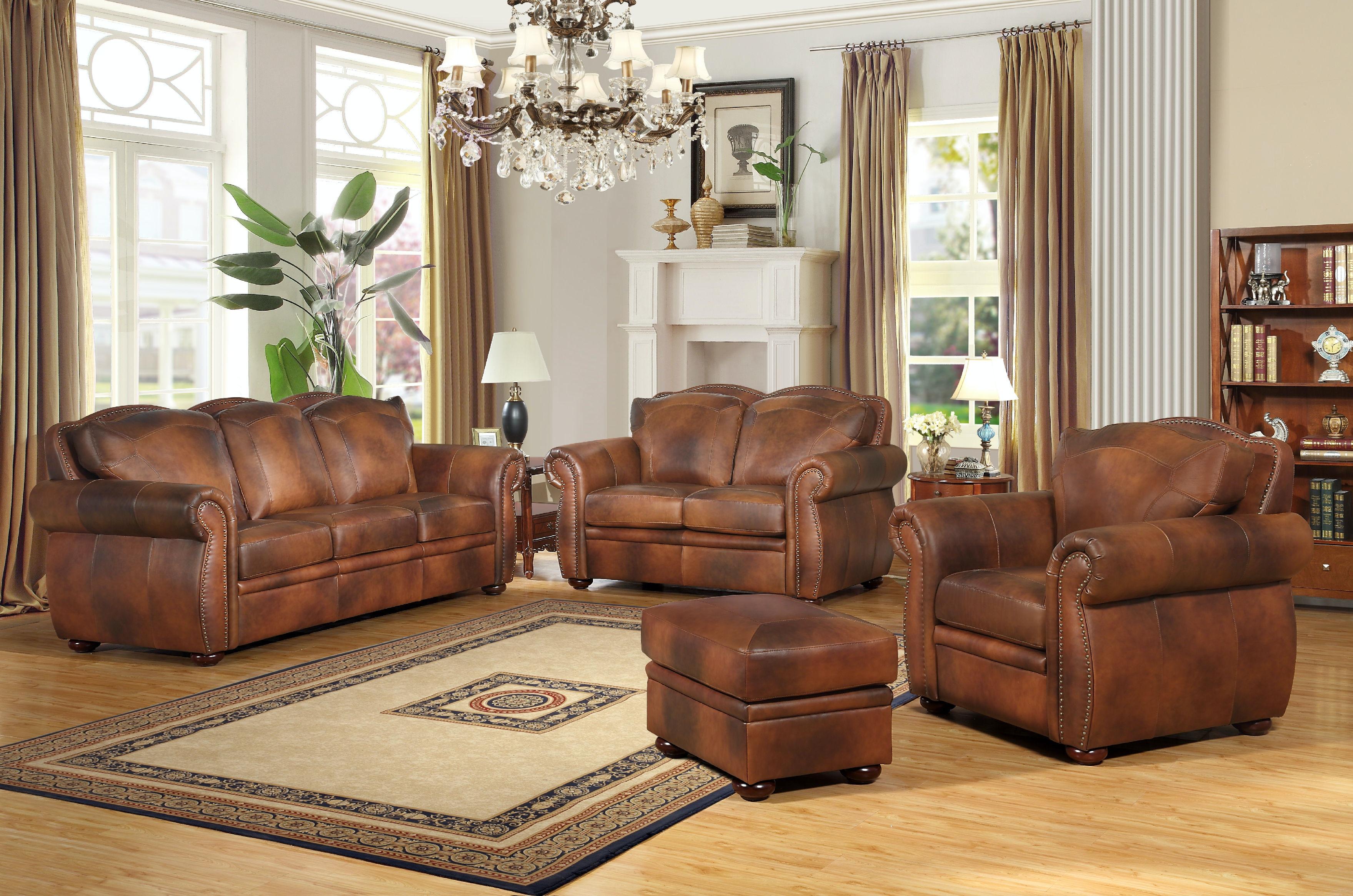 Leather Italia Arizona Loveseat 1444 6110 0204234