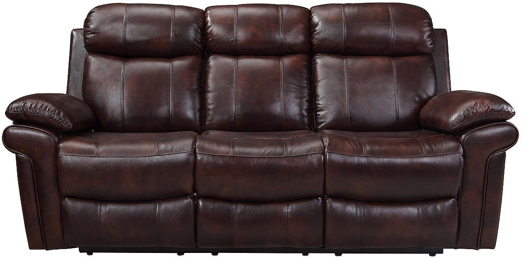Leather Italia Living Room Joplin Power Reclining Sofa 1555-E2117 ...