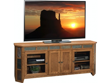 Legends Furniture Home Entertainment Oak Creek 72 Quot Angled