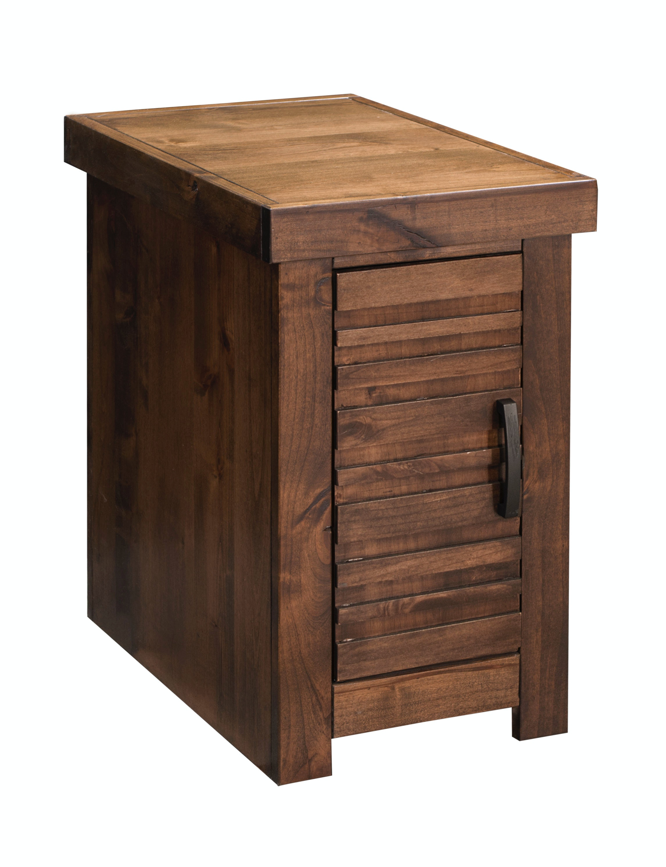 Legends Furniture Living Room Sausalito Chair Table W/Door SL4520.WKY At  Design Source Furniture