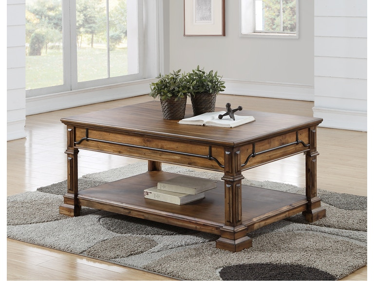 Legends Furniture Living Room Barclay Coffee Table Zbcl 4200
