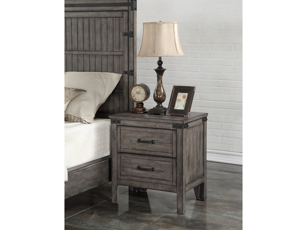 Legends furniture bedroom storehouse nightstand zstr 7015 Seaside collection furniture