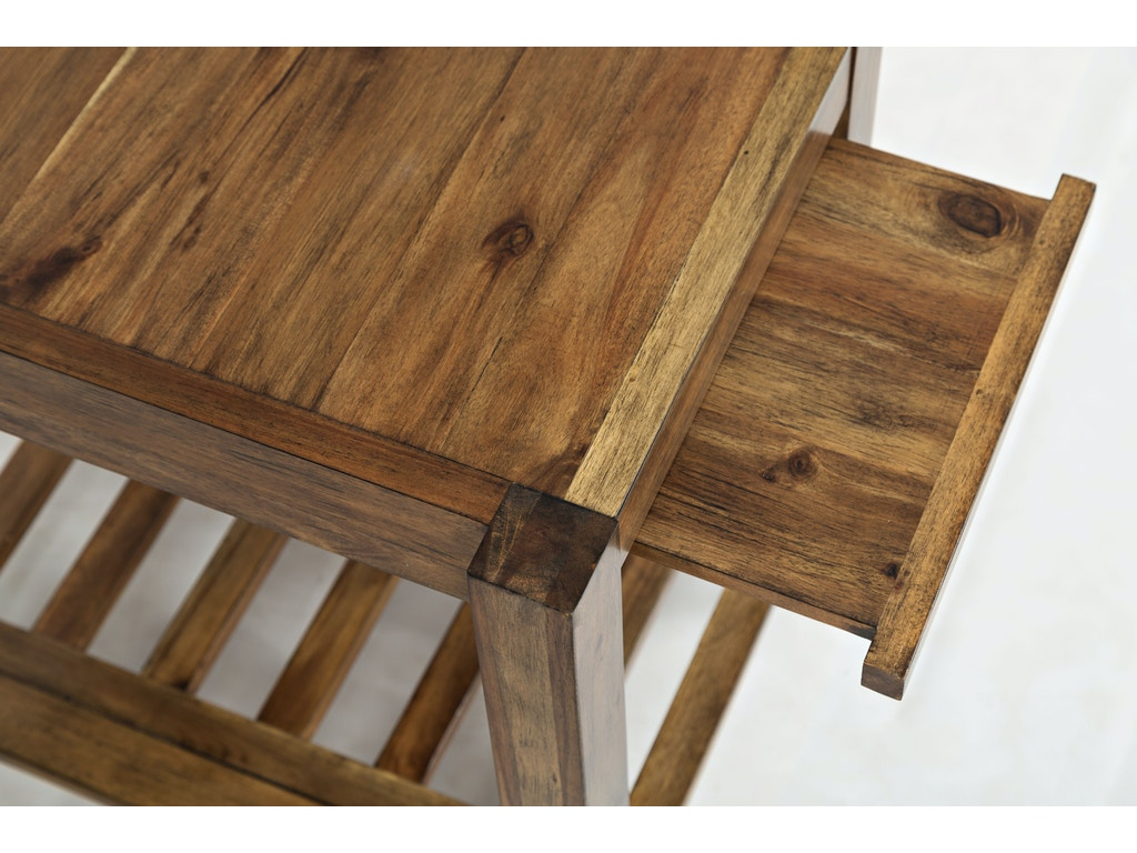 Jofran Living Room Chairside Table 1649 7 Howell Furniture Beaumont And Nederland Tx And