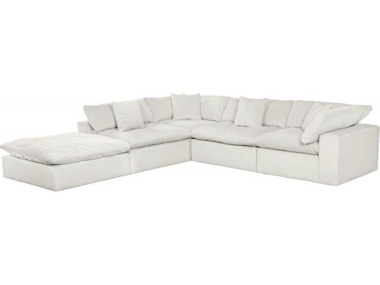 Jackson Furniture Living Room Posh Sectional 4445 Sectional Dewey