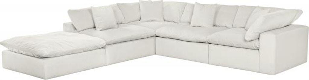 Jackson Furniture Living Room Posh Sectional 4445 Sectional