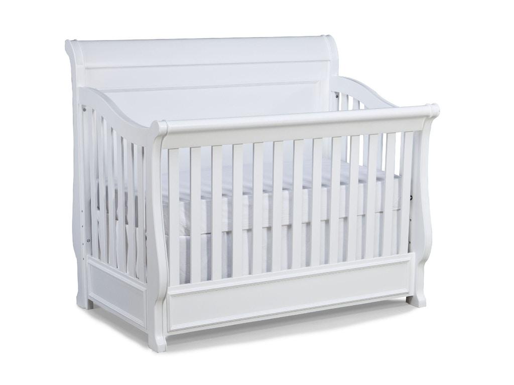 Legacy Clic Kids Nursery Convertible Crib 2830 8900