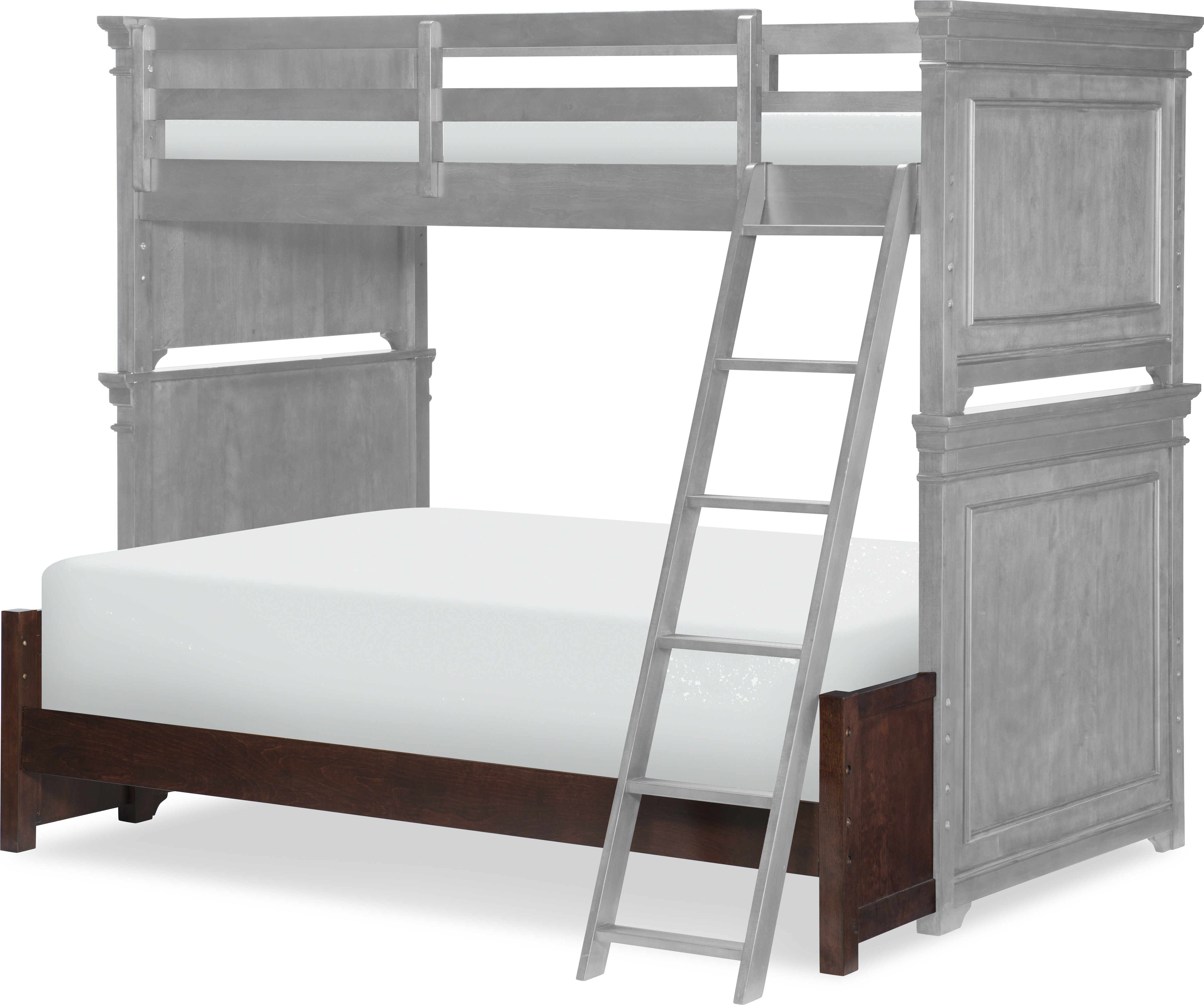 Legacy Classic Kids Youth Canterbury Full Size Bottom Bunk Extension 9814 8140 Lotts Furniture
