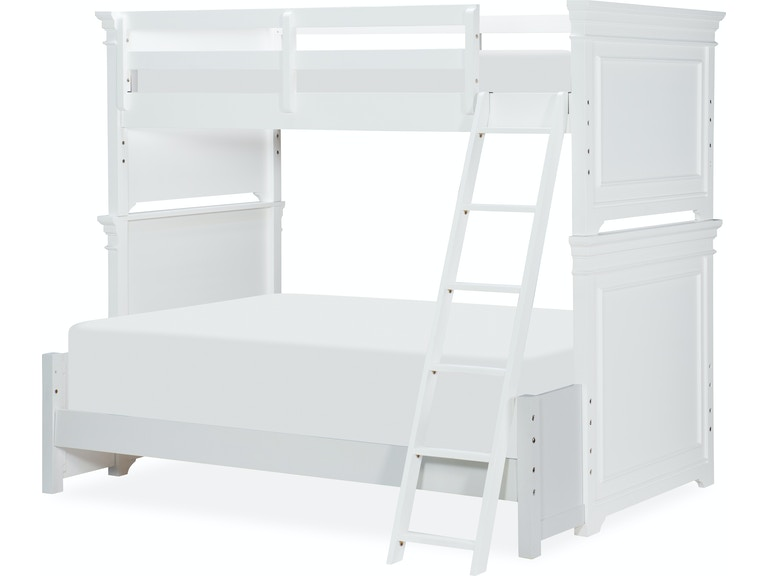 Legacy Classic Kids Youth Canterbury Full Size Bottom Bunk Extension 9815 8140 Indiana Furniture