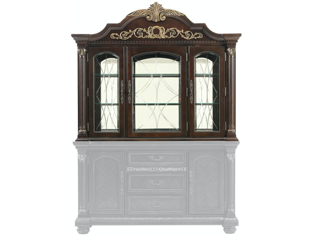 Homelegance Living Room (1/2) Hutch 1808-50 - Gibson ...