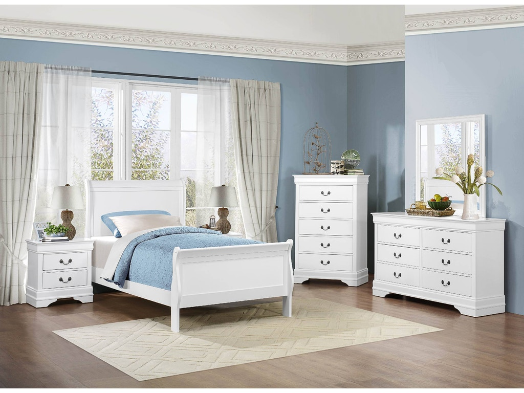 Homelegance bedroom night stand 2147w 4 hickory for Bedroom furniture hickory nc