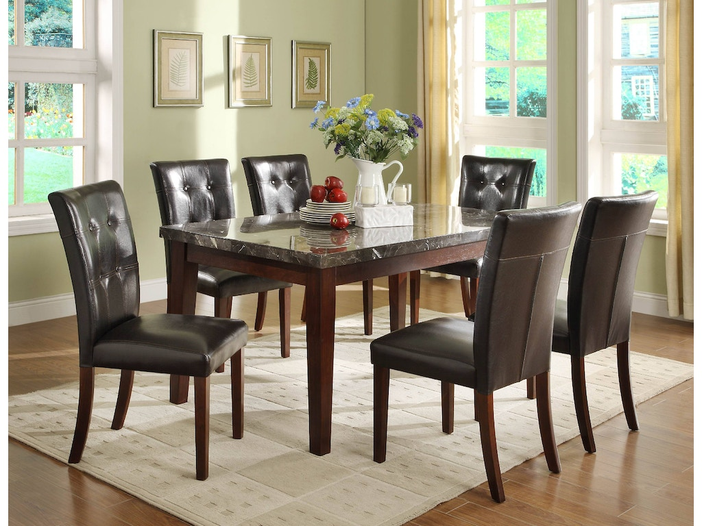 Homelegance dining room table  hickory