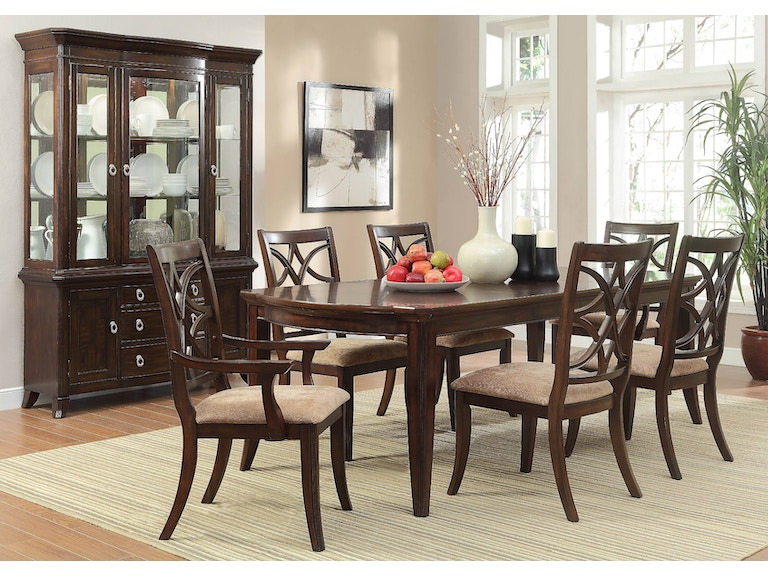 Homelegance Dining Room Dining Table Charter Furniture - Dining room chairs dallas