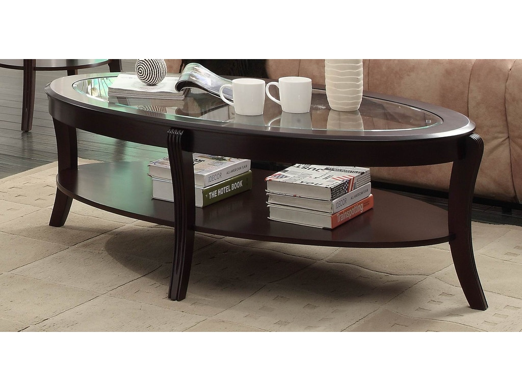 Homelegance living room cocktail table with shelf 3508 30 for Cocktail tables 30