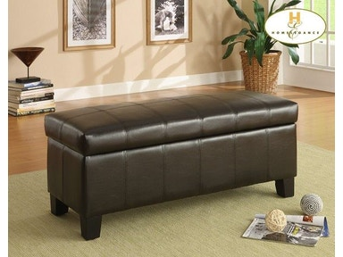 Homelegance Lift Top Storage Bench 471PU