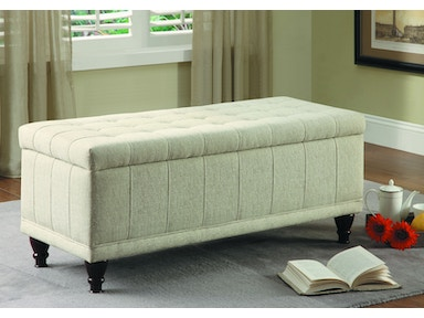 Homelegance Lift Top Storage Bench 4730NF