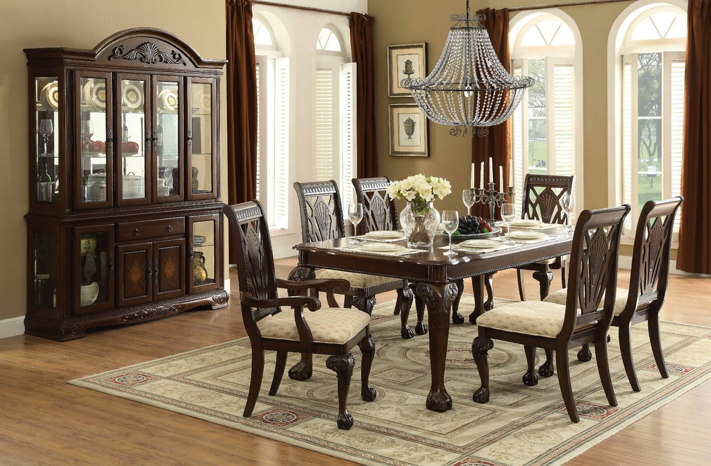 Homelegance Dining Room Table 5055 82 Hickory