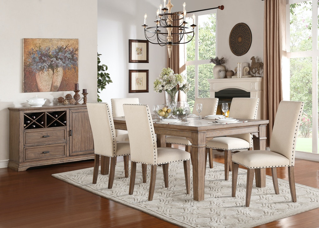 Homelegance Dining Room Dining Table 5108-84 - Simply Discount Furniture - Santa Clarita and