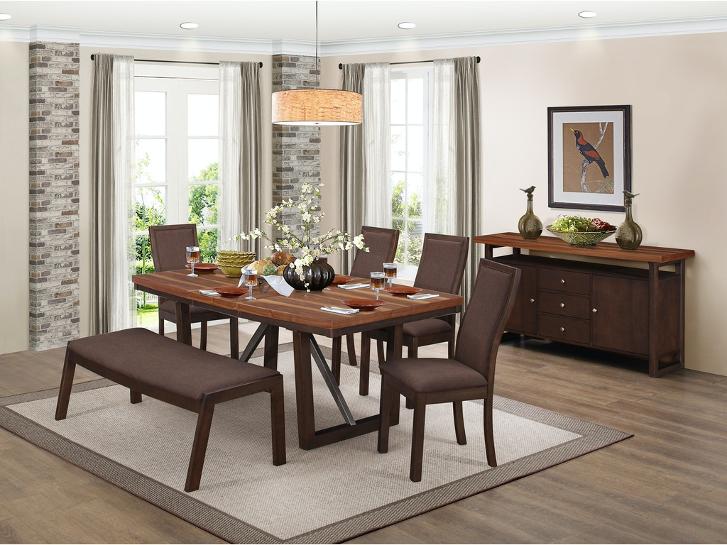 Homelegance Dining Room 1 2 Dining Table Top 5431 77 Evans Furniture Galleries Chico