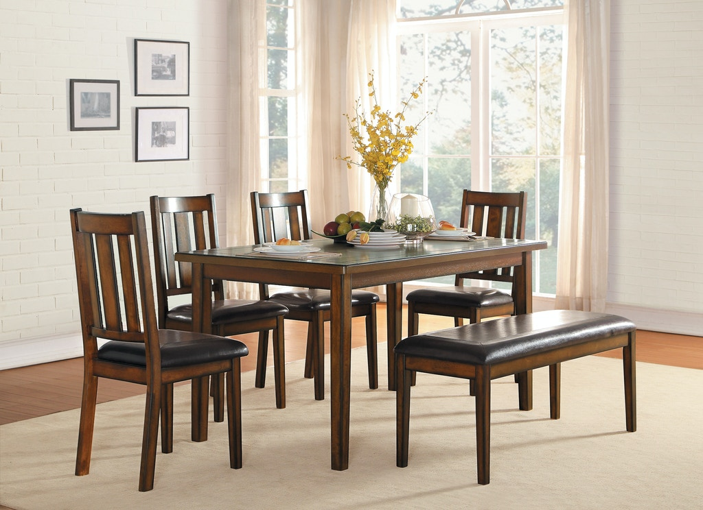 Prime Homelegance Dining Room 6 Piece Pack Dinette Set Espresso Ibusinesslaw Wood Chair Design Ideas Ibusinesslaworg