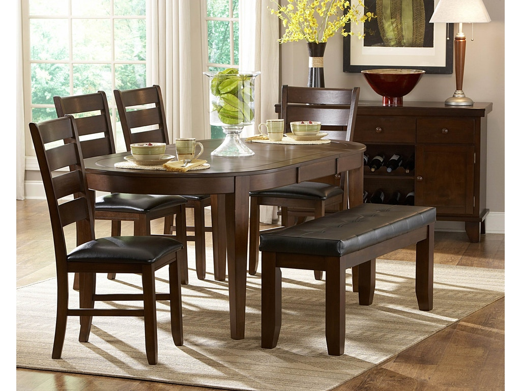 Homelegance dining room table gibson