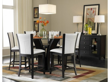 Homelegance 1 3 Counter Height Gl Table 710 36rdc