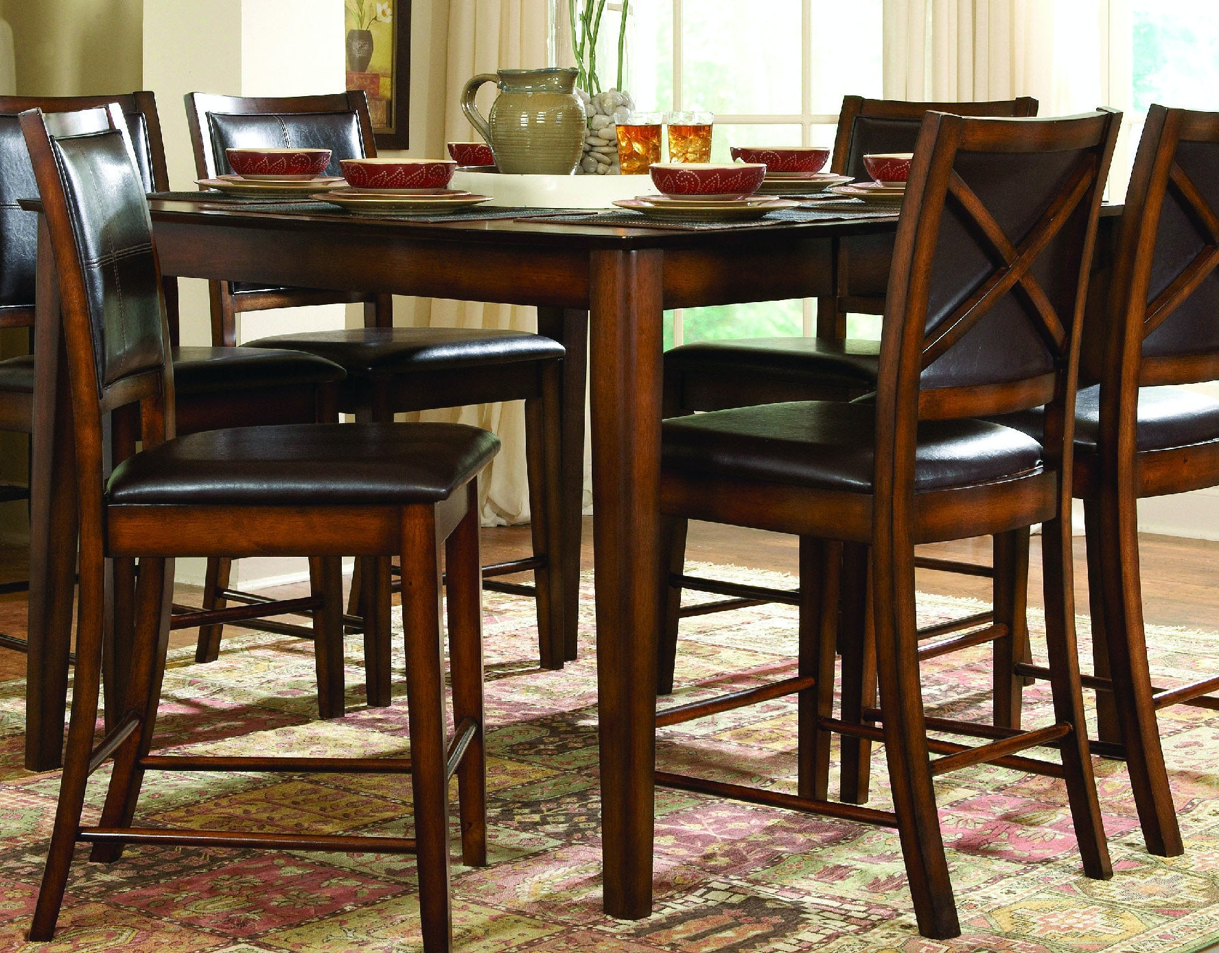 Homelegance Dining Room Verona Counter Height Dining Table 037116 ...