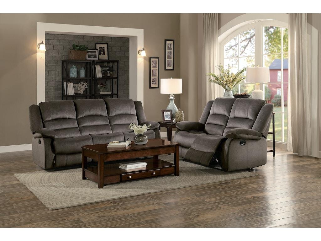 Homelegance Living Room D Recliner Sofa 8329ch 3 Hickory Furniture Mart Hickory Nc