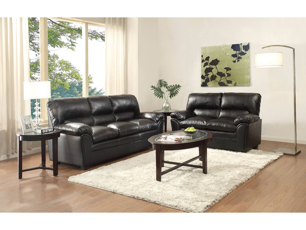 Homelegance Living Room Sofa 8511bk 3 Hickory Furniture Mart Hickory Nc
