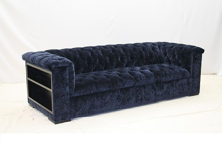 Old Hickory Tannery Sofa With Bookcase Ends 1013 BC 03